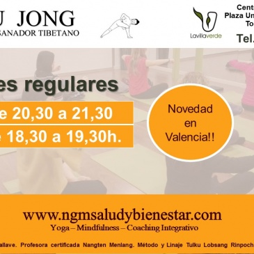Yoga Tibetano en Torrente, Valencia. Sesiones Regulares Lu Jong, Yoga Sanador Tibetano.